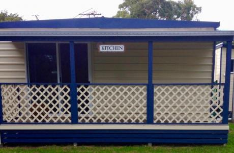 Kui Parks, Millicent Lakeside Caravan Park, Camp Kitchen