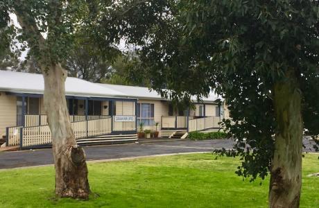 Kui Parks, Millicent Lakeside Caravan Park, Office