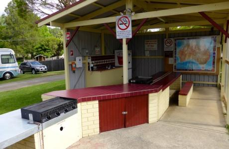 Kui Parks, Moss Vale Village Park, Camp Kitchen