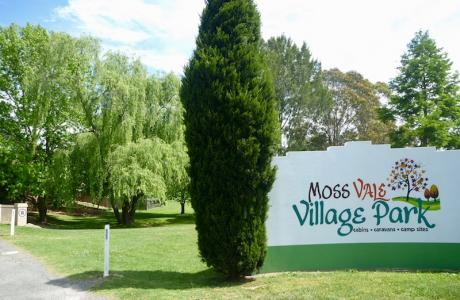 Kui Parks, Moss Vale Village Park, Entrance