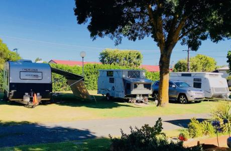 Kui Parks, Mount Gambier Central Caravan Park, Sites