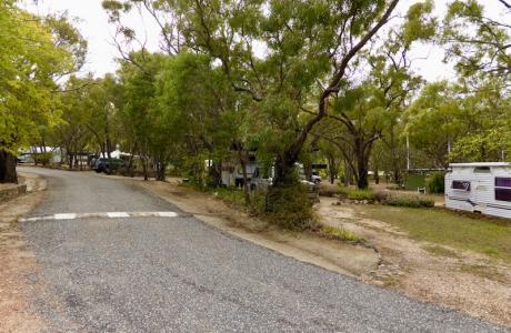 Kui Parks, Mt. Carbine Caravan Park, Sites
