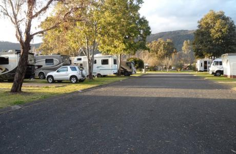 Kui Parks, Murrurundi Caravan Park, Sites