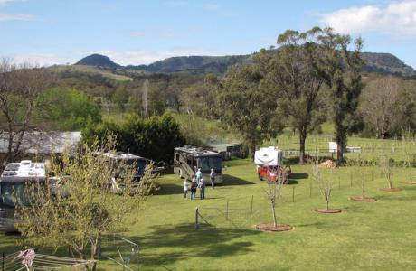 Kui Parks, Murrurundi Caravan Park, Self Contained Sites
