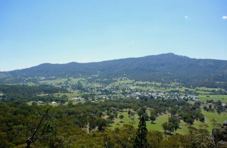 Kui Parks, Murrurundi Caravan Park, View
