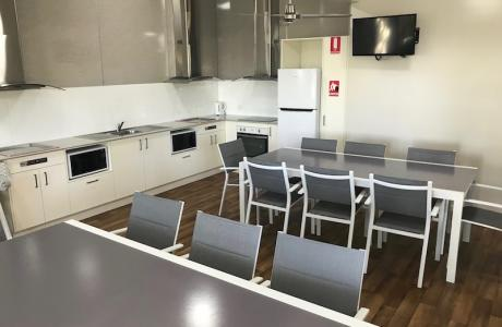 Kui Parks, Ocean View Caravan and Tourist Park, Landsborough, Club Meeting Room