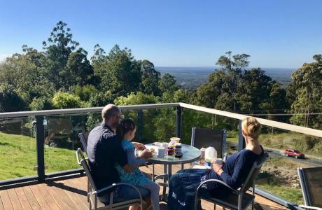 Kui Parks, Ocean View Caravan and Tourist Park, Landsborough, View