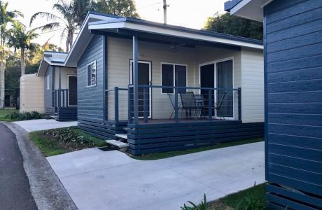 Kui Parks, Ocean View Caravan and Tourist Park, Landsborough, Cabins