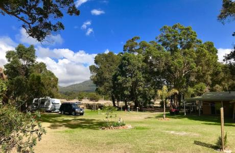 Kui Parks, Porongurup Range Tourist Park Sites