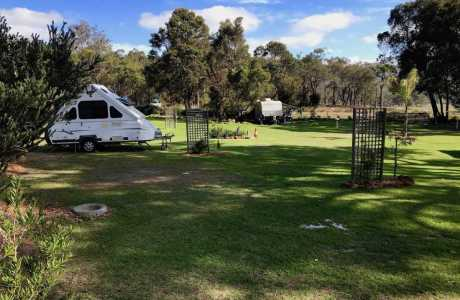 Kui Parks, Porongurup Range Tourist Park, Sites