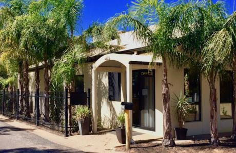 Kui Parks, Red Cliffs Caravan Park, Mildura, Office