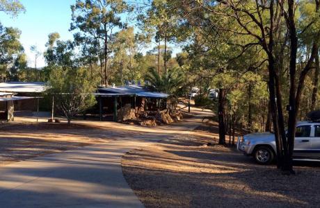 Kui Parks, Sapphire Caravan Park, Gemfields, Park