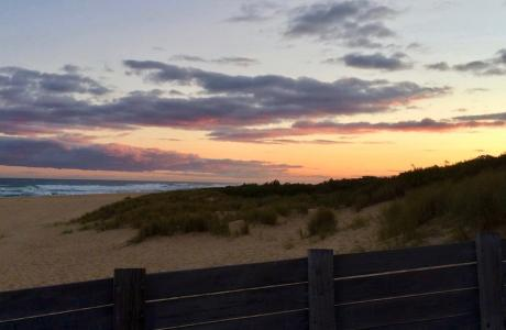 Kui Parks, Lakes Entrance, Silver Sands Tourist Park, Beach