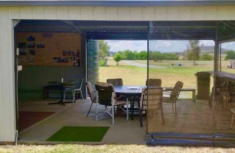 Kui Parks, Spring Creek Caravan Park, Camp Kitchen