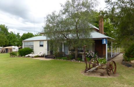 Kui Parks, Spring Creek Caravan Park, Office