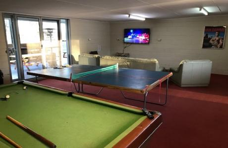 Kui Parks, City Lights Caravan Park, Tamworth, Recreation Room