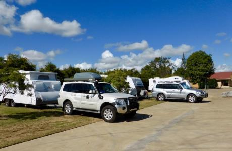 Kui Parks, Mundubbera, Three Rivers Tourist Park, Sites