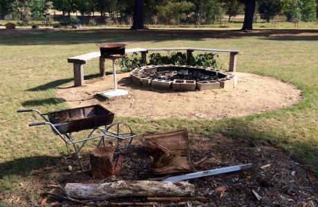 Kui Parks, Tingha Gems Caravan Park, Tingha, Fire Pit