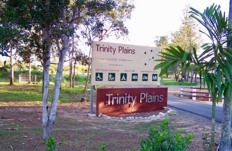 Kui Parks, Trinity Plains Tourist Park, Mareeba, Signage